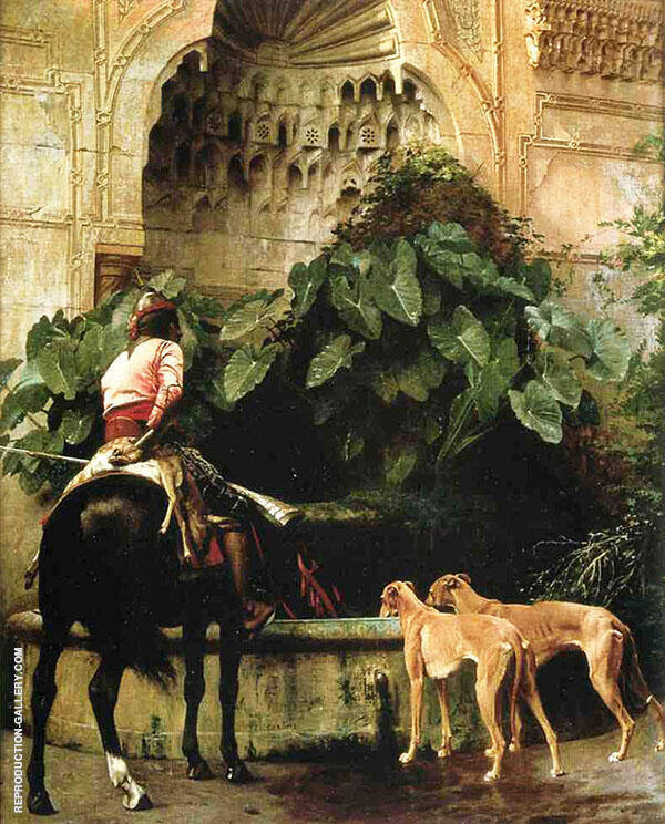Home from The Hunt 1876 By Jean Leon Gerome