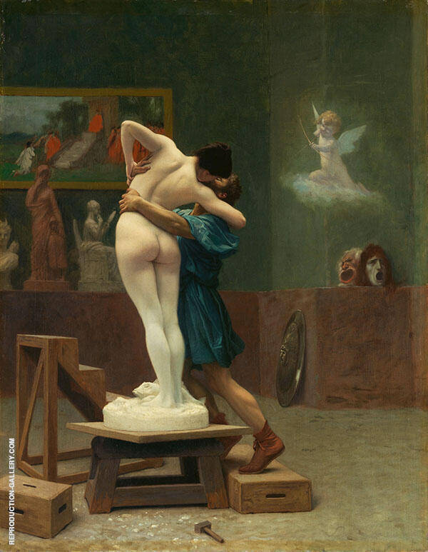 Pygmalion and Galatea 1892 By Jean Leon Gerome