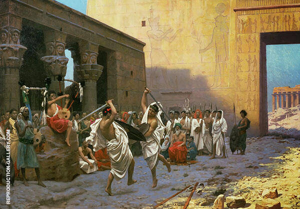 Pyrrhic Dance By Jean Leon Gerome