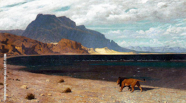 Quaerens Quem Devoret 1888 Painting By Jean Leon Gerome