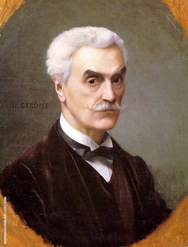 Self Portrait 1886 By Jean Leon Gerome