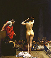 Selling Slaves in Rome 1886 By Jean Leon Gerome