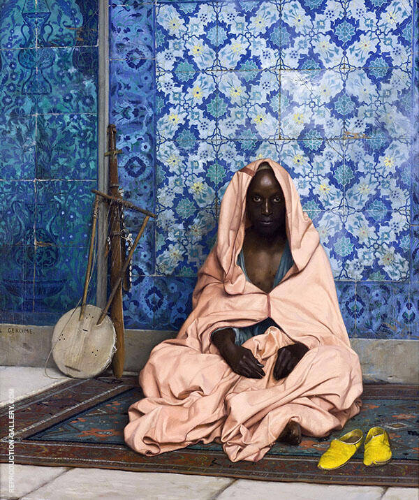 The Black Poet 1888 Painting By Jean Leon Gerome - Reproduction Gallery