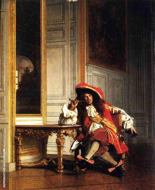 Jean Bart 1862 Painting By Jean Leon Gerome - Reproduction Gallery