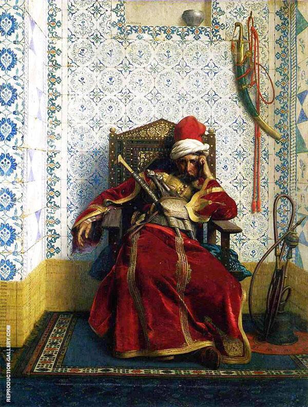 Markos Botsaris 1874 By Jean Leon Gerome