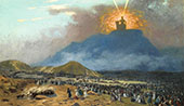 Moses on Mount Sinai 1895 By Jean Leon Gerome