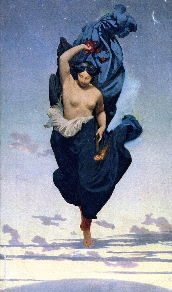 Night Painting By Jean Leon Gerome - Reproduction Gallery