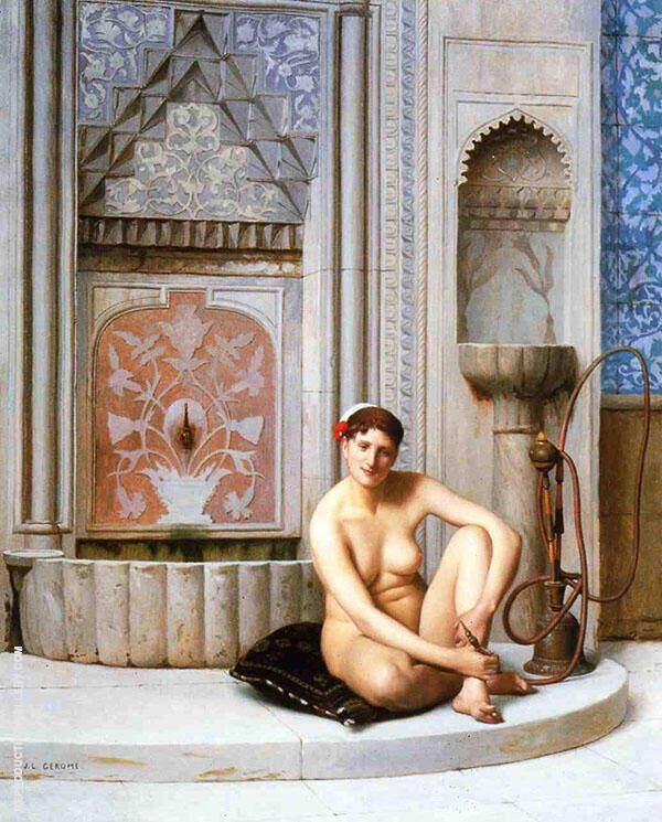 Nude Painting By Jean Leon Gerome - Reproduction Gallery
