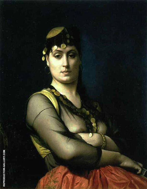 Oriental Woman 1882 Painting By Jean Leon Gerome - Reproduction Gallery