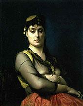 Oriental Woman 1882 By Jean Leon Gerome