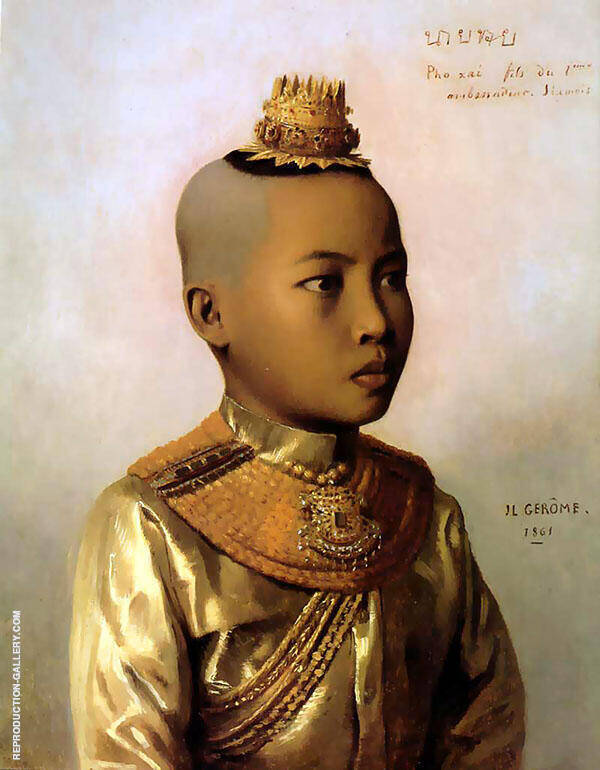 Pho Xai 1861 Painting By Jean Leon Gerome - Reproduction Gallery