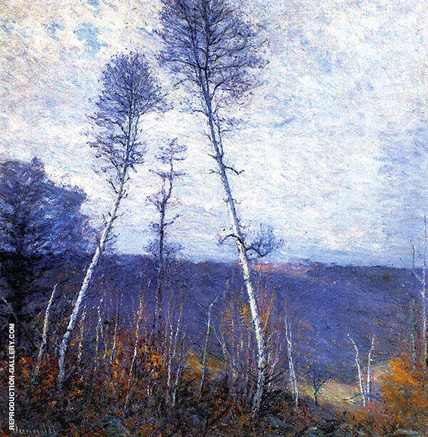 A Late Autumn Epic c1918 Painting By Robert William Vonnoh
