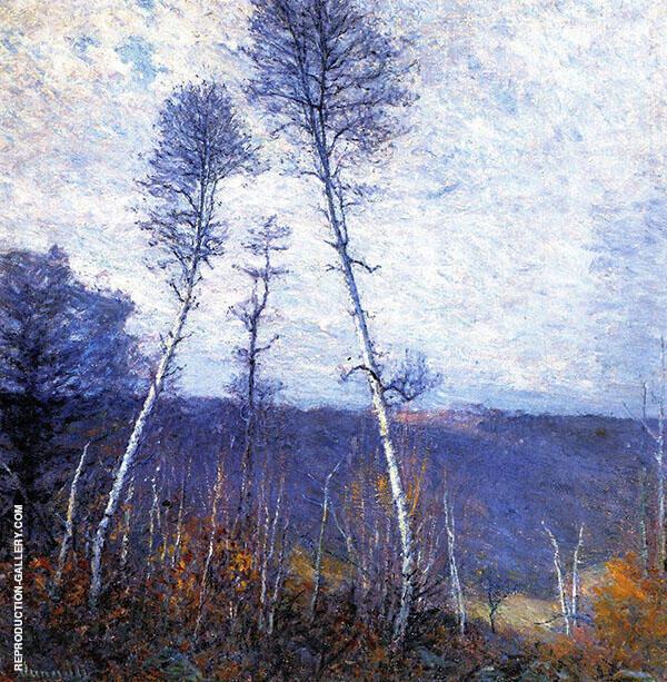 A Late Autumn Epic c1918 By Robert William Vonnoh