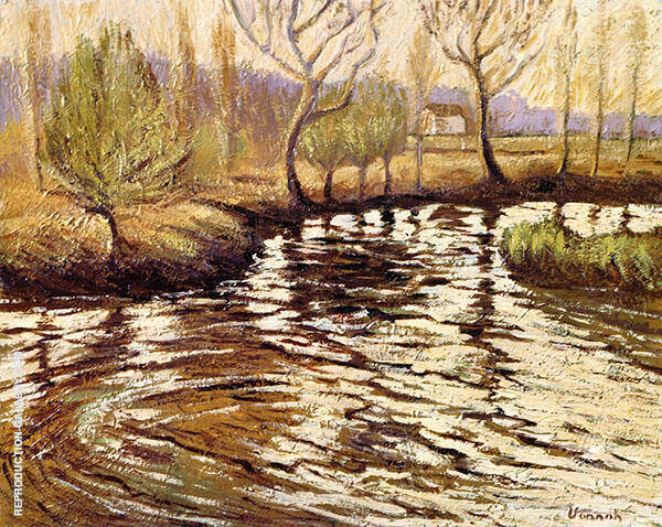 Early Morning on The River Painting By Robert William Vonnoh