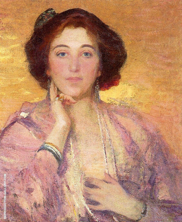 Fire Opal By Robert William Vonnoh