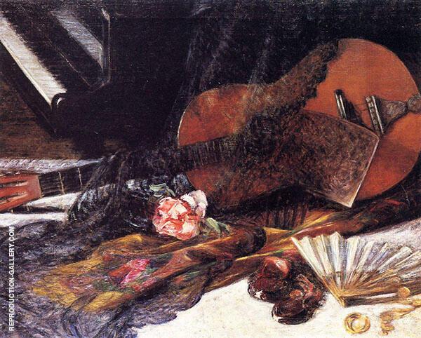 Flamenco Rose By Robert William Vonnoh