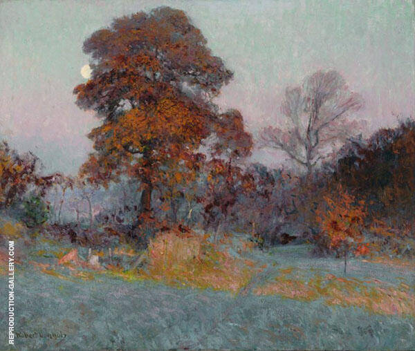 Frosty Morning 1904 Painting By Robert William Vonnoh