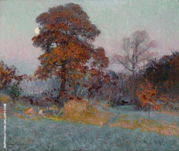Frosty Morning 1904 By Robert William Vonnoh
