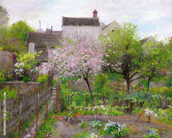 Graz sur Loing Painting By Robert William Vonnoh - Reproduction Gallery