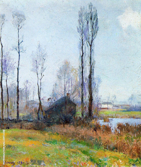 Moist Weather France 1890 By Robert William Vonnoh