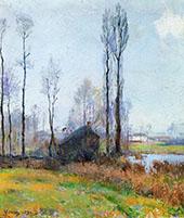 Moist Weather France 1890 By Robert William Vonnoh
