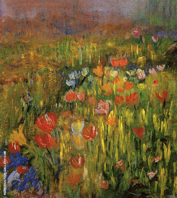 Poppies 1894 By Robert William Vonnoh