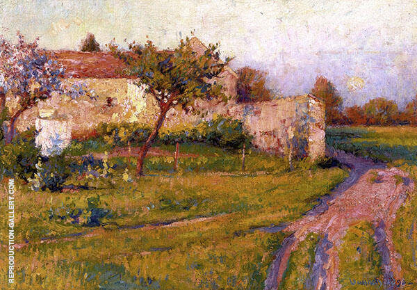 Spring in Fance By Robert William Vonnoh