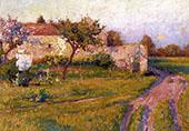 Spring in Fance By Robert William Vonnoh