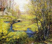 Springtime By Robert William Vonnoh