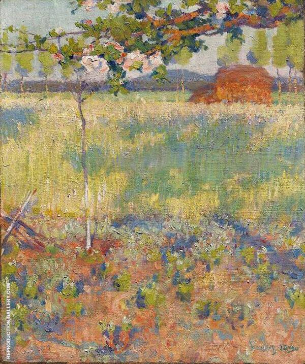 Springtime in France 1890 By Robert William Vonnoh