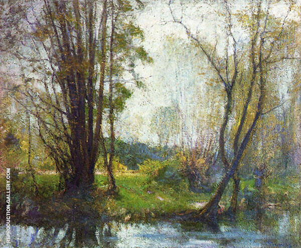 Tender Days By Robert William Vonnoh