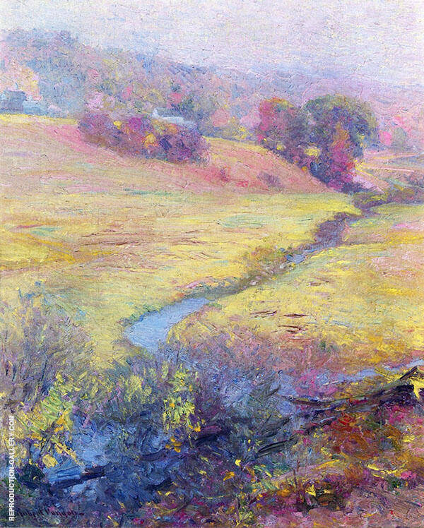 The Brook By Robert William Vonnoh