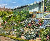 The Garden 1891 By Robert William Vonnoh