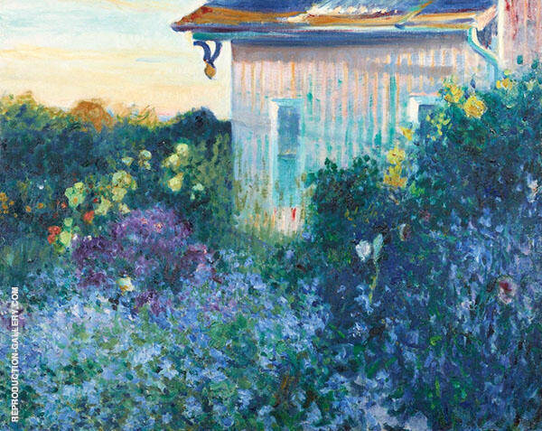 The Hydrangea House By Robert William Vonnoh