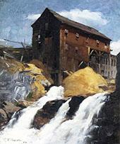 The Mill 1884 By Robert William Vonnoh
