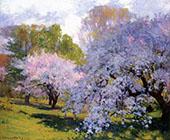 The Orchard By Robert William Vonnoh