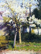 Trees at Gertz By Robert William Vonnoh