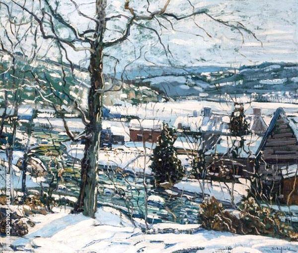December Day By Walter Elmer Schofield