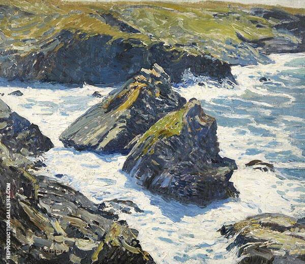 Ebb Tide Morning By Walter Elmer Schofield