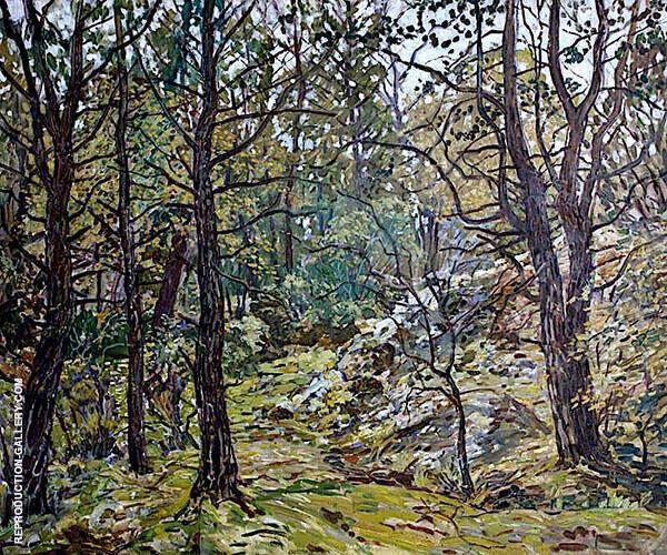 Godolphin Woods 1940 By Walter Elmer Schofield