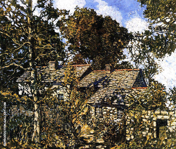 House at Godolphin 1940 By Walter Elmer Schofield