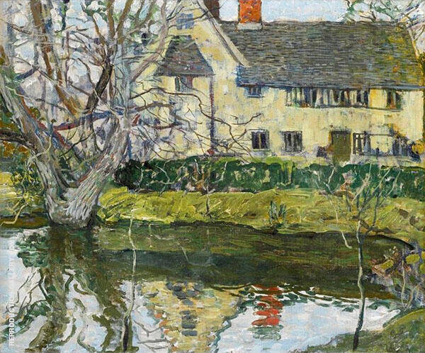House at Otley By Walter Elmer Schofield