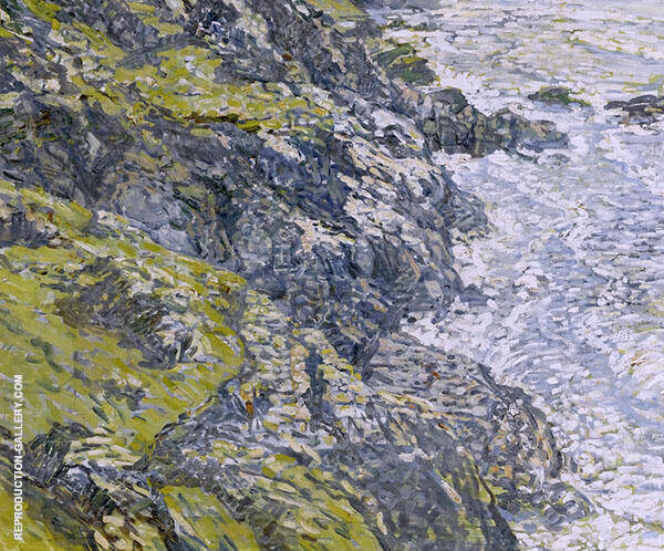 Land's End Cornwall By Walter Elmer Schofield