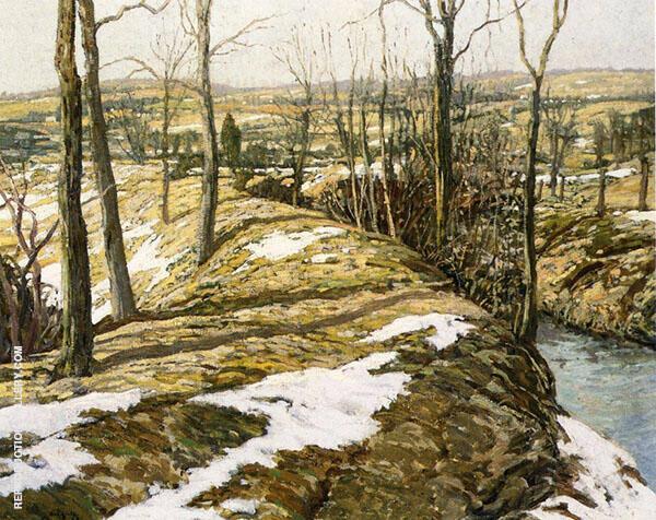Late Winter 1903 By Walter Elmer Schofield