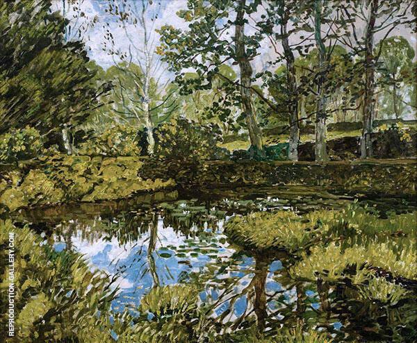 Lily Pond Godolphin 1939 By Walter Elmer Schofield