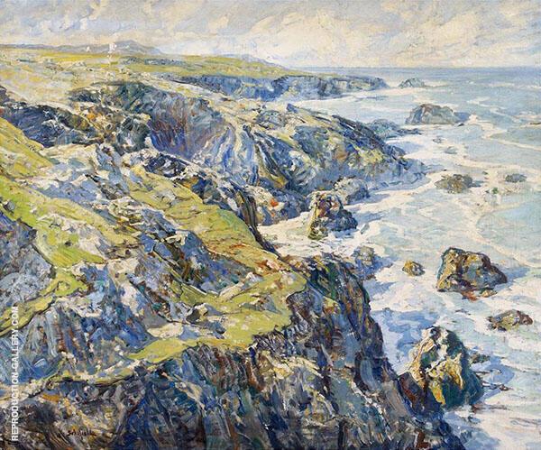May Coast of Cornwall By Walter Elmer Schofield