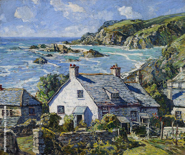 May in Cornwall 1931 By Walter Elmer Schofield