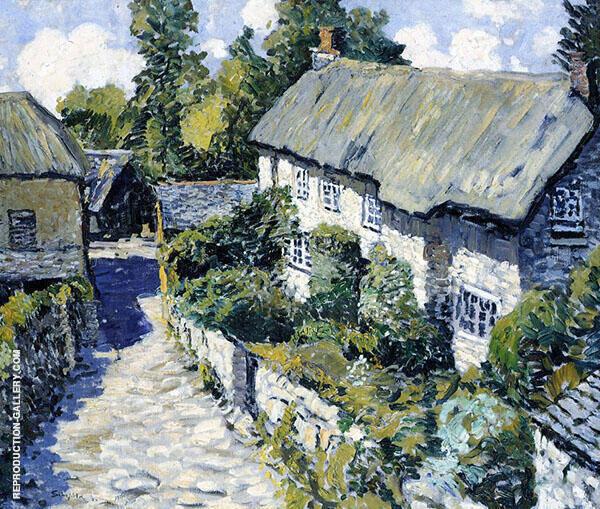 McLegrenow Farm 1920 By Walter Elmer Schofield