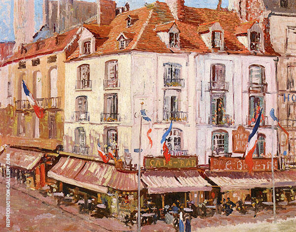 Montmartre c1896 By Walter Elmer Schofield