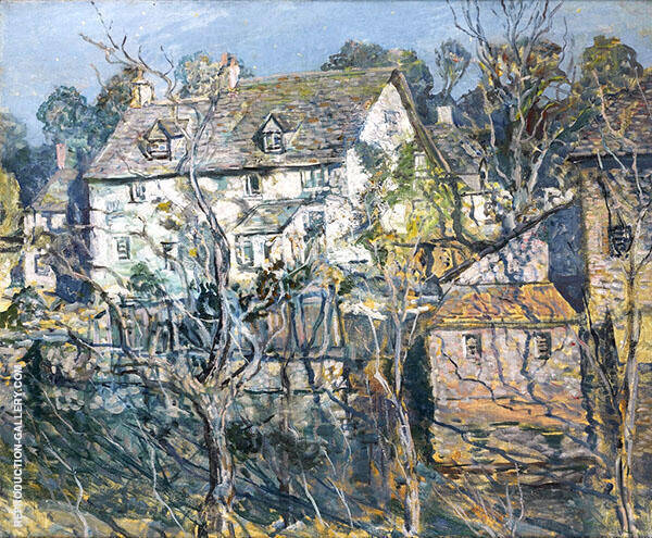 Old Mill House By Walter Elmer Schofield